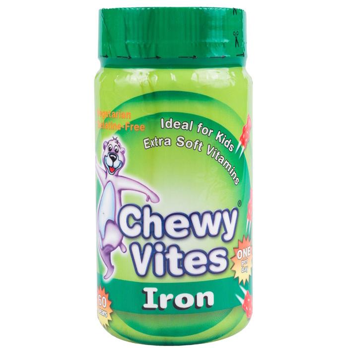 Chewy Vites Iron Σίδηρος Ζελεδάκια για Παιδιά, Γεύση & Ενέργεια στο Maximum 60Bears Chews