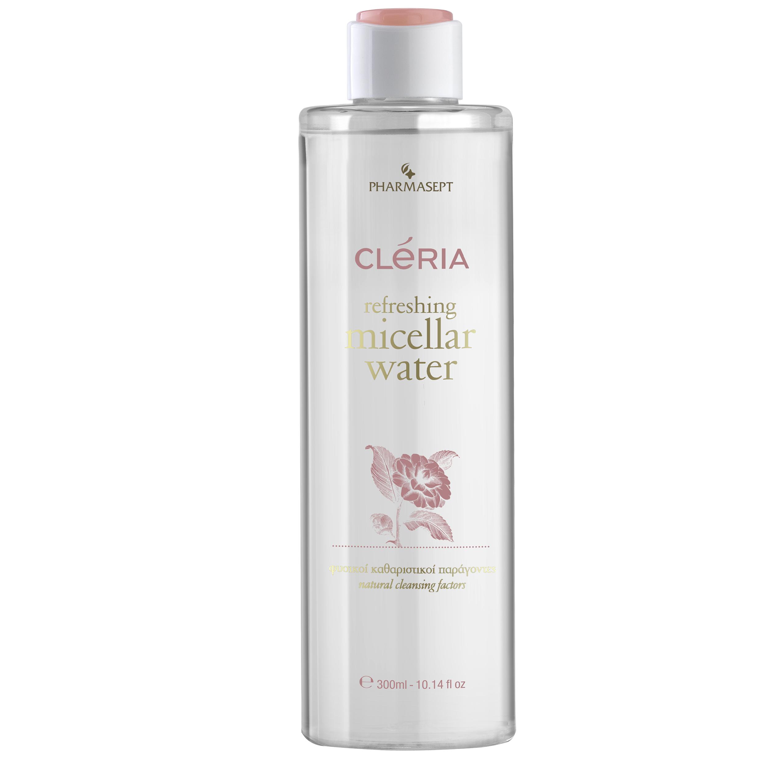 Pharmasept Cleria Refreshing Micellar Water Νερό Ντεμακιγιάζ για Πρόσωπο & ΜάτιαAll Skin Types 300ml