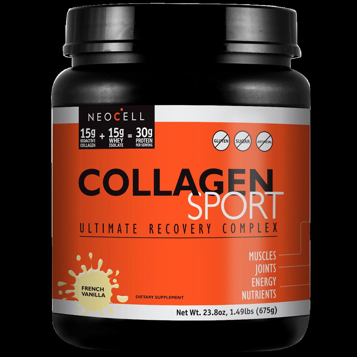 NeocellSport Collagen Πρωτεΐνη Κολλαγόνου & Ορού Γάλακτος σε Σκόνη 1350g – Vanilla