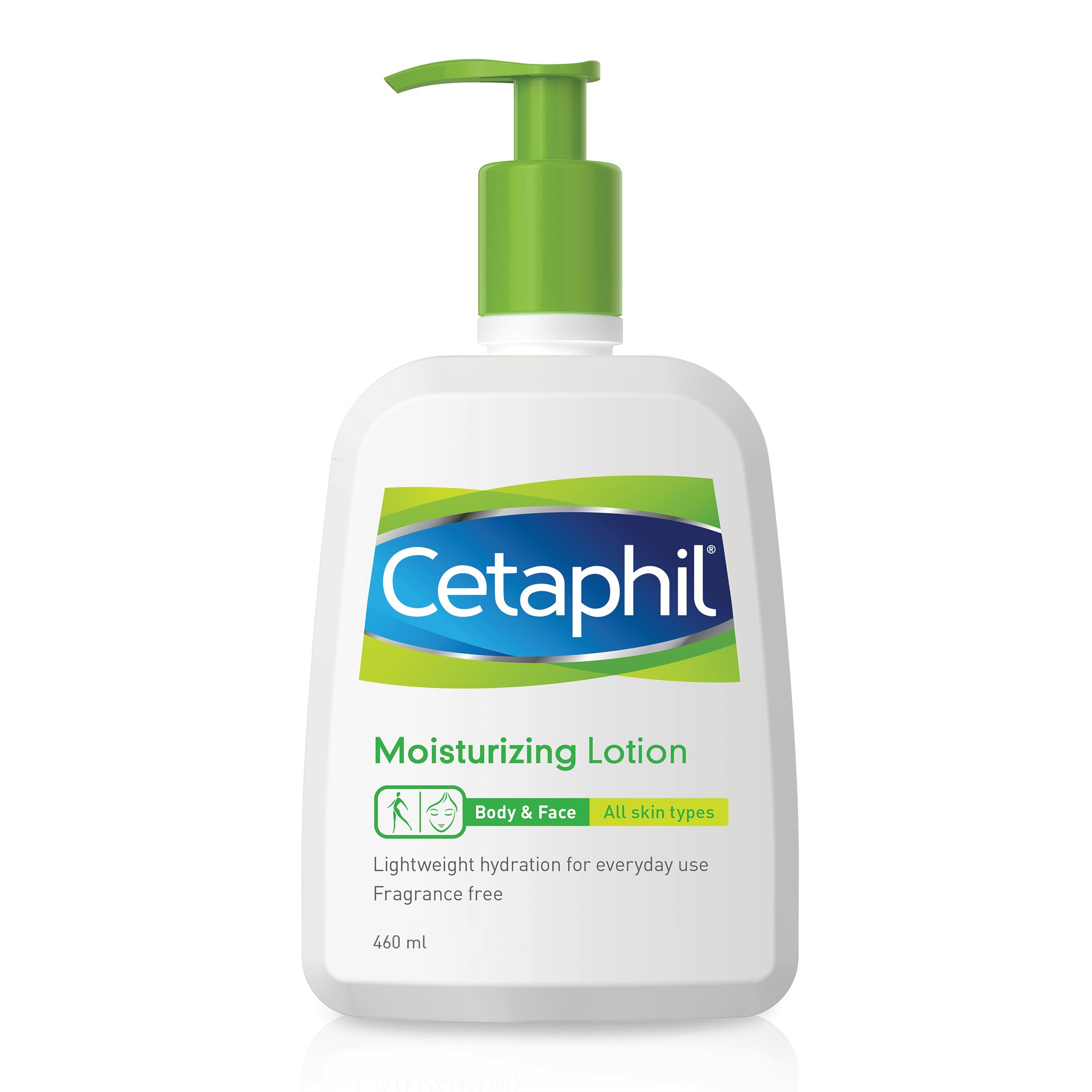 Cetaphil Moisturizer Lotion Ενυδατική Λοσιόν Σώματος για Ευαίσθητο ή Ξηρό Δέρμα 460ml