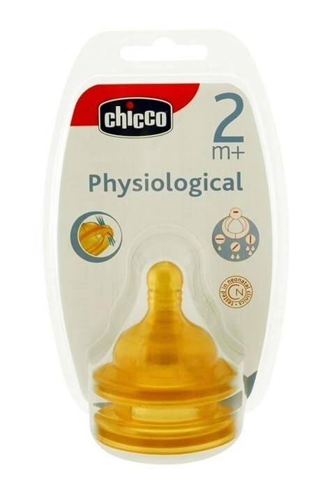 ChiccoΘηλήΚαουτσούκ 2m+ ΡυθμιζόμενηΡοήPhysiological2τμχ