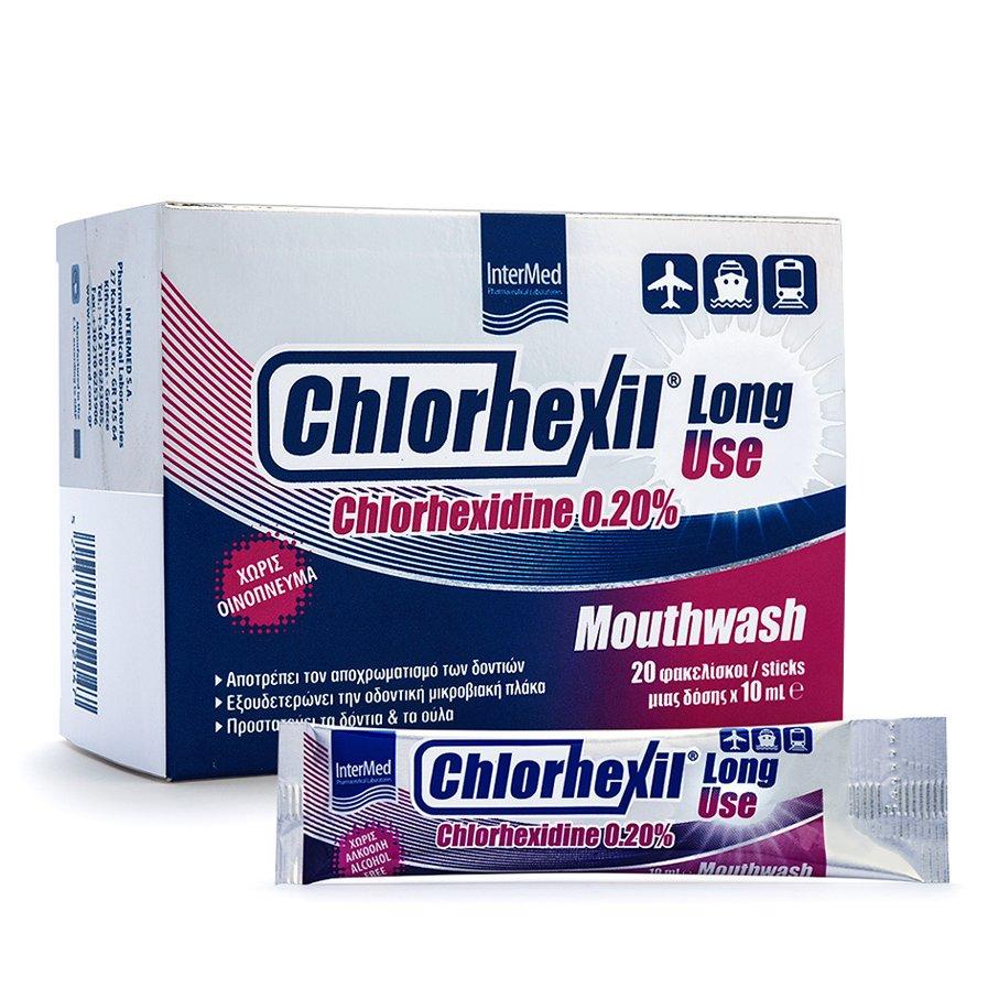 Chlorhexil 0,20% Στοματικό Διάλυμα 20Φακελίσκοι x 10ml