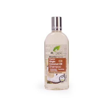 Dr Organic Organic Virgin Coconut Oil Shampoo Σαμπουάν με Βιολογικό Έλαιο Καρύδας 265ml
