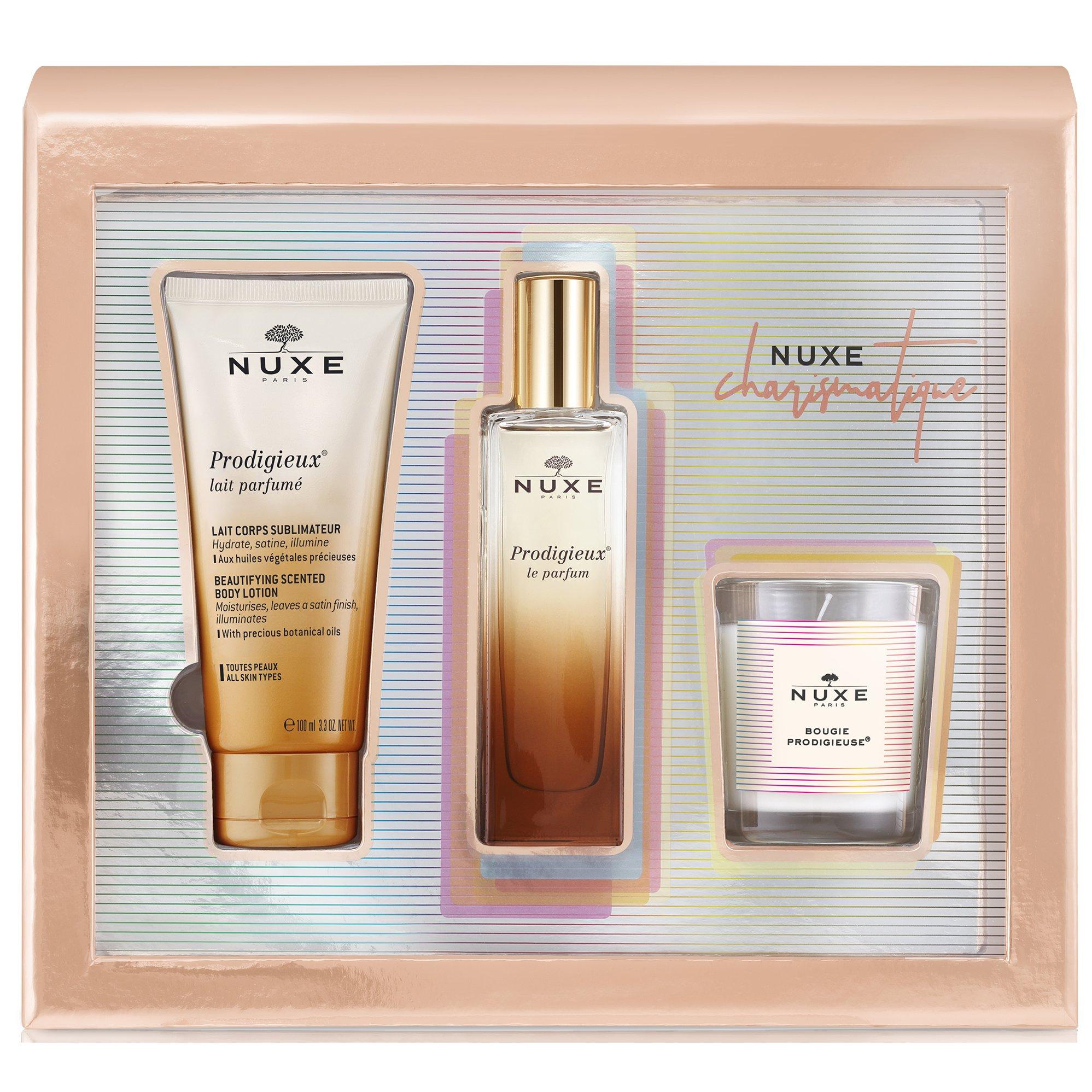 Nuxe Promo Charismatique Prodigieux Le Parfum Άρωμα 50ml & Body Lotion Αρωματικό Γαλάκτωμα 100ml & Bougie Prodigieuse Κερί 70gr