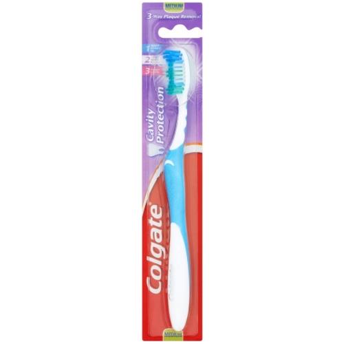 Colgate Cavity Protection Medium Οδοντόβουρτσα Για Την Αποτελεσματική Απομάκρυνση Της Πλάκας