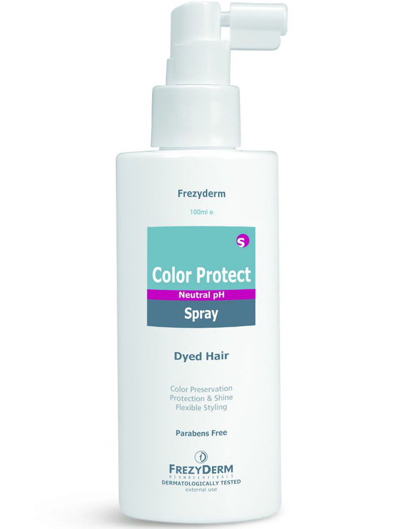Frezyderm Color Protect Spray Σπρέι Προστασίας Χρώματος & Λάμψης Από UV Ακτινοβολία & Ρύπανση 100ml