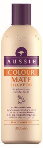 Aussie Colour Mate Shampoo Καθαρίζει Απαλά Τα Βαμμένα Μαλλιά 300ml