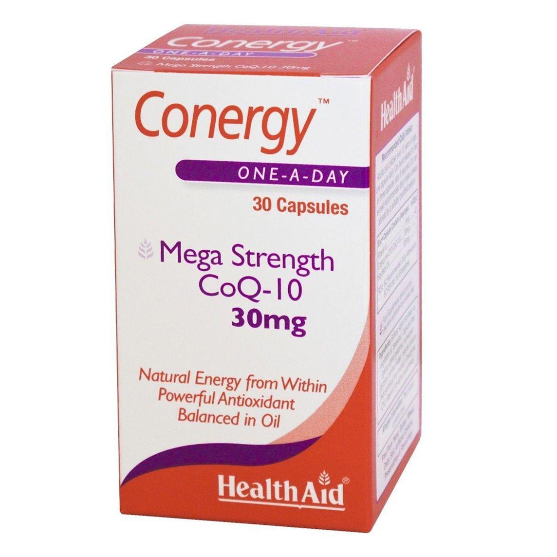 Health Aid Conergy Q10,30mg 30 κάψουλες