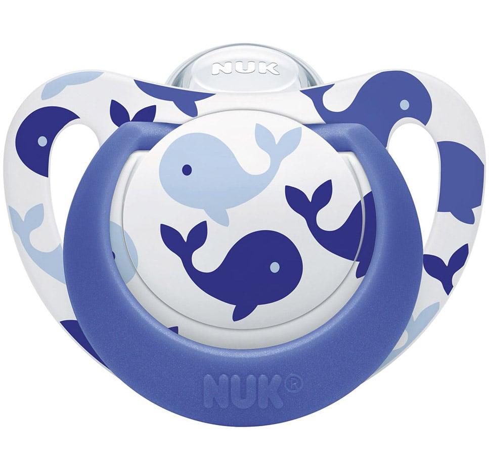 Nuk Genius Color Πιπίλα Σιλικόνης με Κρίκο Χωρίς BPA – Μέγεθος 3 (18-36 μηνών)