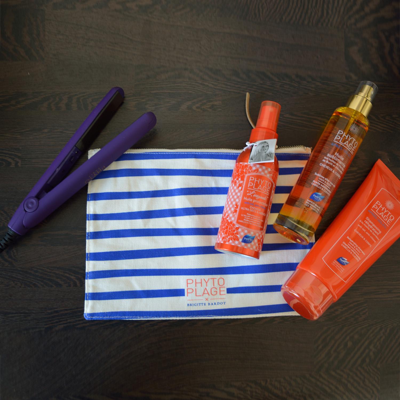 Phytoplage Πακέτο Προσφοράς Huile After Sun 100ml, Huile Protectrice Μαλλιών 100ml, Shampoo 200ml & Δώρο Πρέσα Μαλλιών & Νεσεσερ