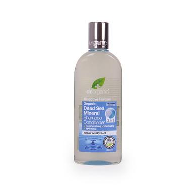 Dr Organic Organic Dead Sea Mineral Shampoo & Conditioner 2 in 1 Σαμπουάν και Μαλακτική Κρέμα Μαλλιών 265ml
