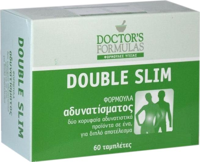 Doctors Formulas Double Slim Φόρμουλα Αδυνατίσματος 60tabs