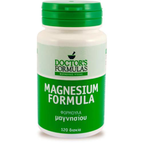 Doctors Formulas Magnesium Φόρμουλα Μαγνησίου 120tabs