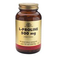 Solgar L-Proline 500mg 100veg.caps