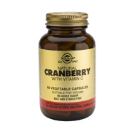 Solgar Cranberry Extract With Vitamin C 60veg.caps