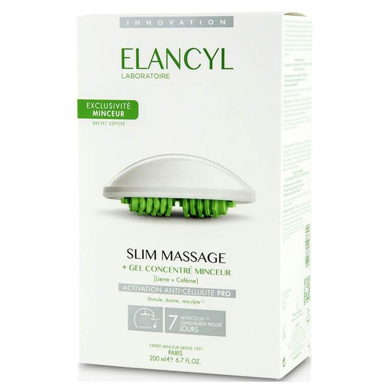 Elancyl Slim MassageGel Concentre Minceur 200ml&Massage Gant,Gelγια Μασάζ Κατά της Κυτταρίτιδας &Γάντι Αδυνατίσματος
