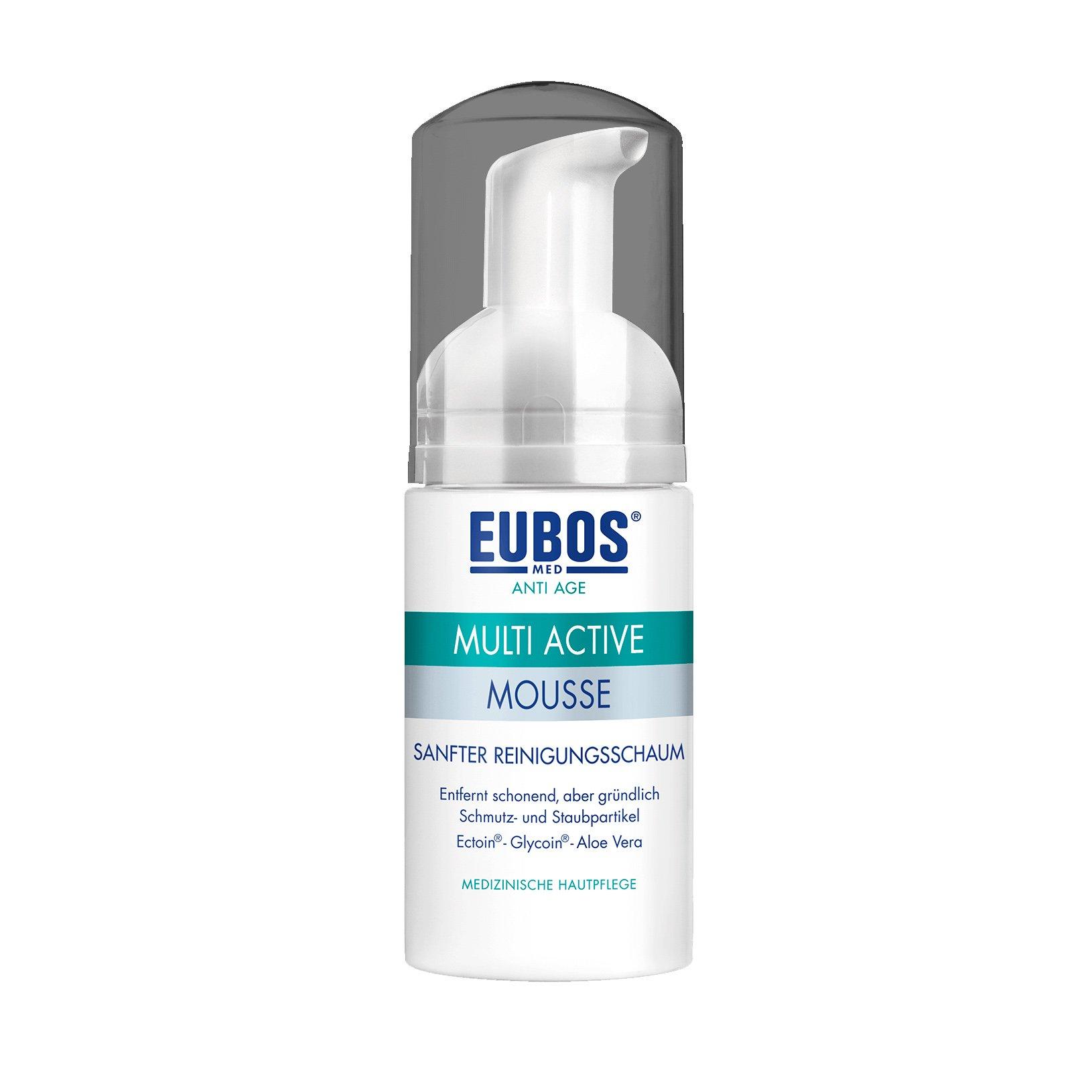 Eubos Multi Active Mousse Mild Cleansing Foam Απαλός Αφρός Καθαρισμού Προσώπου 100ml