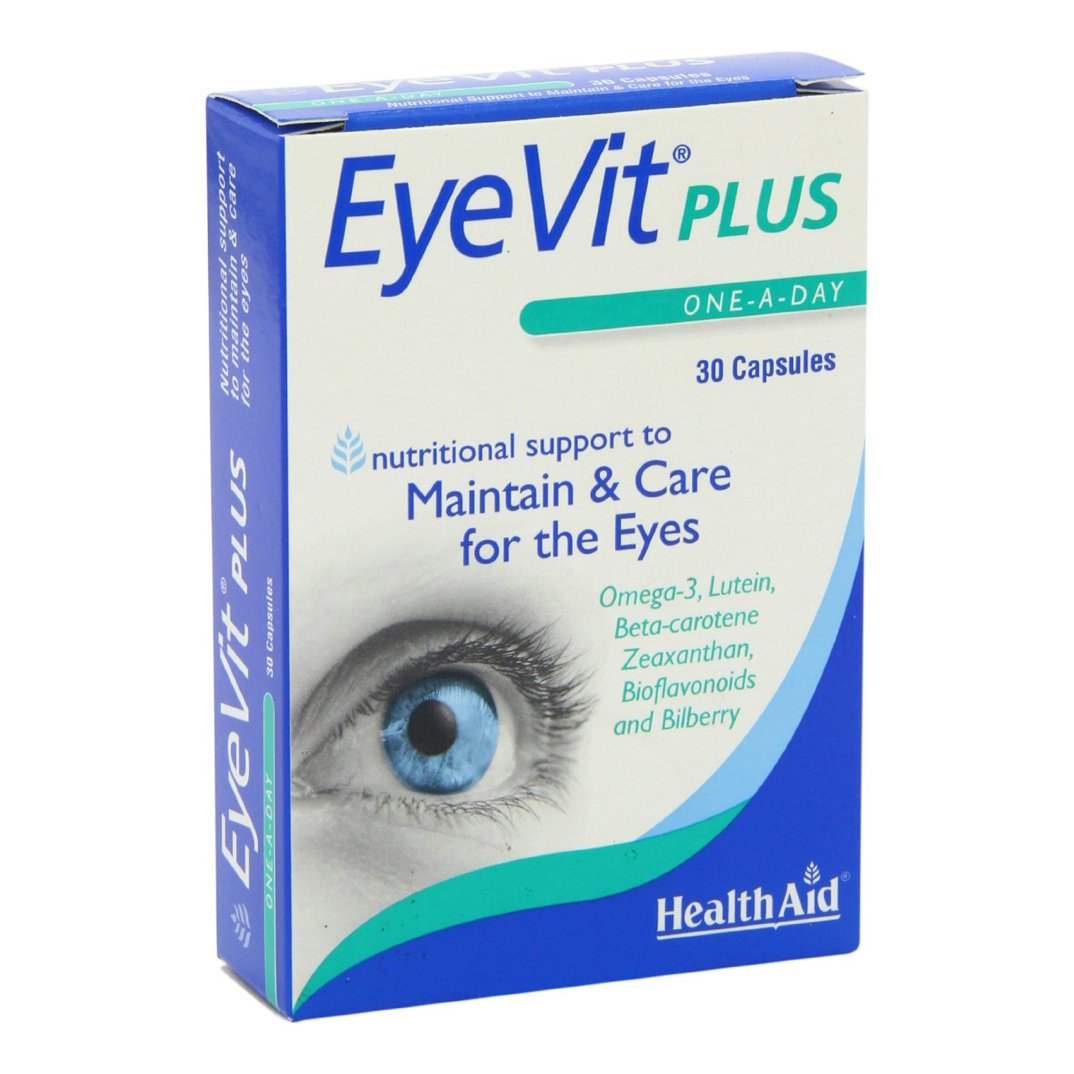 Health Aid EyeVit Plus Φροντίδα για τα Μάτια 30 caps