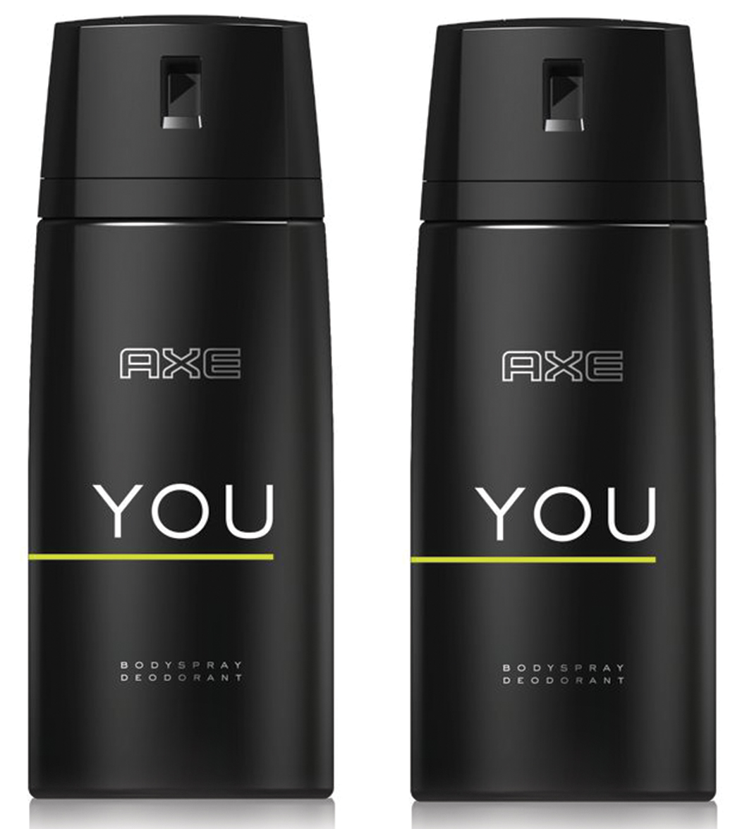 Axe Πακέτο Προσφοράς You Body Spray Αποσμητικό 2x150ml 1+1 Δώρο