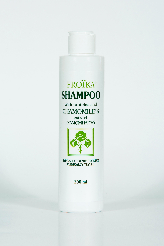 Froika Chamomiles Shampoo Σαμπουάν Χαμομηλιού Για Eυαίσθητα Mαλλιά 200ml