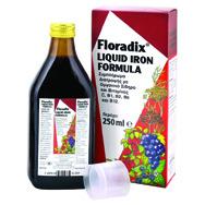 Power Health Floradix Πλούσιο Σε Χυμούς Φρούτων Ειδικά Εκχυλίσματα Τονωτικών Φυτών Σίδηρο Και Βιταμίνες 250 ml