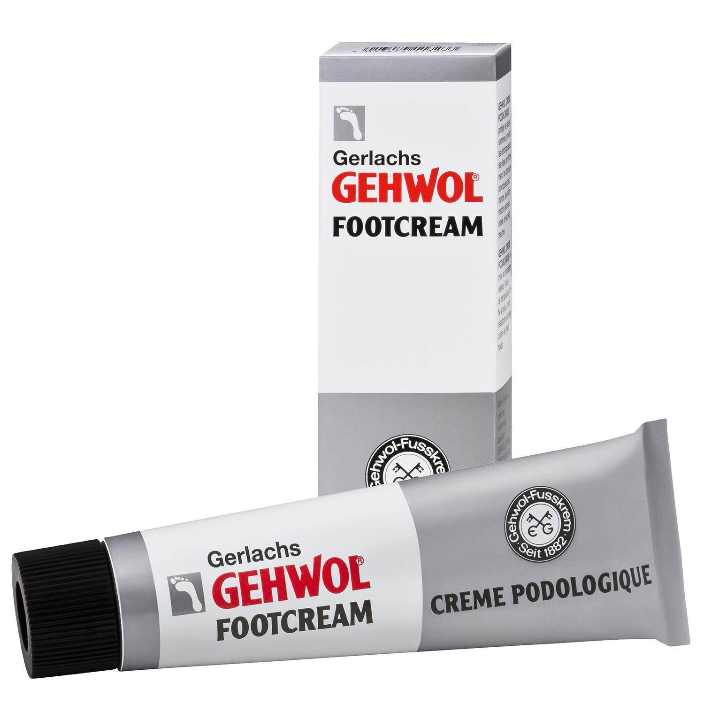 Gehwol Footcream για το Καταπονημένο και Πληγωμένο Δέρμα των Ποδιών 75ml