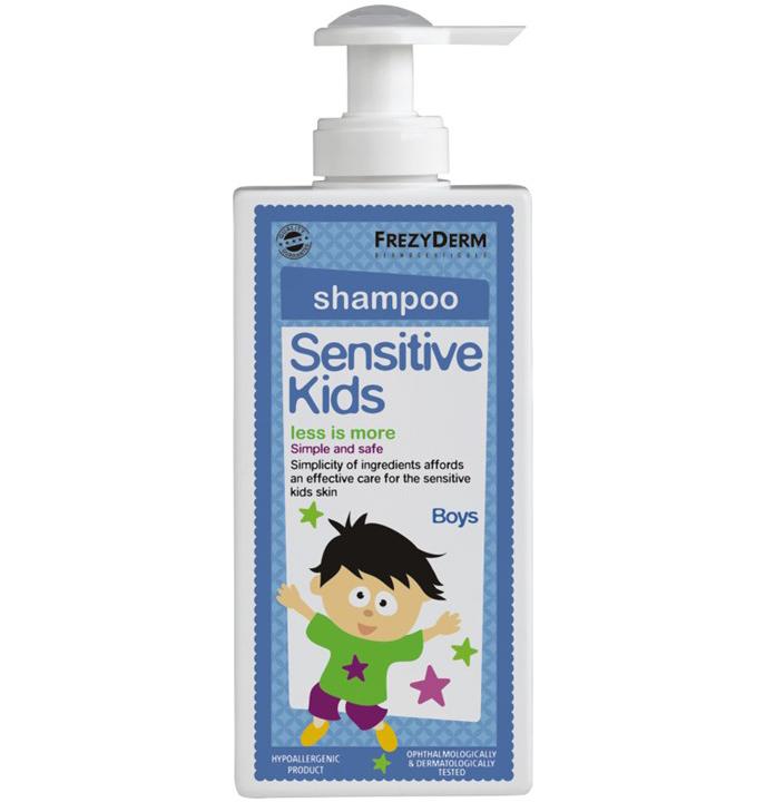 Frezyderm Sensitive Kids Shampoo for Boys Εξειδικευμένο Σαμπουάν για Αγόρια 200ml