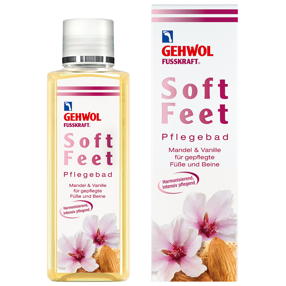 Gehwol Fusskraft Soft Feet Nourishing Bath Θρεπτικό Ποδόλουτρο 200ml