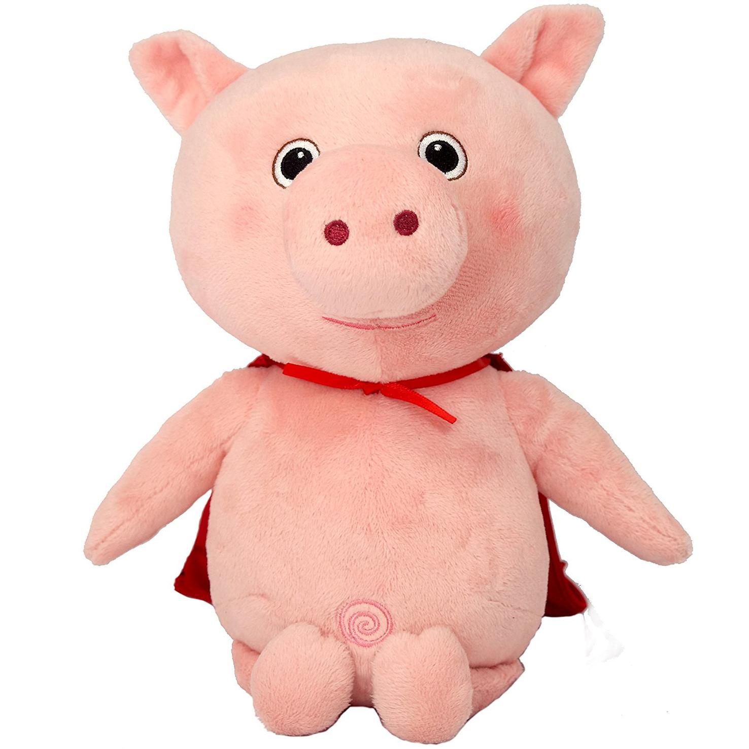 Little Baby Bum Musical Pig Singing Γουρουνάκι, Μουσικό Λούτρινο Παιχνίδι με 4 Τραγουδάκια Εκμάθησης