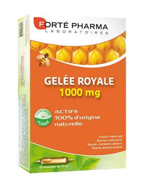 Forte Pharma Gelee Royale 1000mg Για Την Προστασία Του Οργανισμού 20amp x10ml