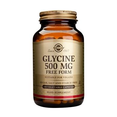Solgar Glycine 500mg 100veg.caps