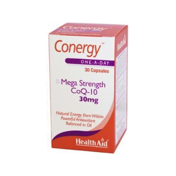 Health Aid Conergy Q10,30mg 30 κάψουλες