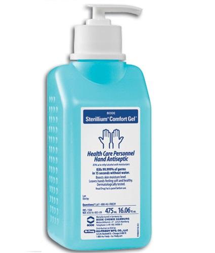 Sterillium Gel Αντισηπτικό Αλκοολούχο Απολυμαντικό Χεριών με Αντλία 475ml – Gel 475ml