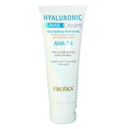 Froika Hyaluronic AHA-14 Cream Δερματολογική Κρέμα Προσώπου που Απομακρύνει τα Νεκρά Κύτταρα, για Λάμψη και Υγιή Όψη 50ml