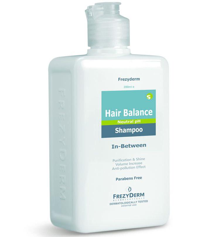Frezyderm Hair Balance Shampoo Σαμπουάν για τον Ήπιο Καθαρισμό των Μαλλιών 200ml