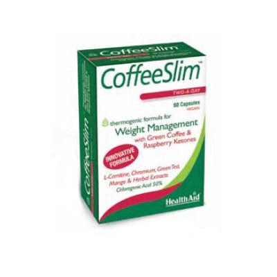 HealthAid Coffee Slim Για Αύξηση Του Μεταβολισμού Και Των Επιπέδων Ενέργειας 60 κάψουλες