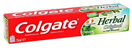 Colgate Herbal Με Τα Πιο Εκλεκτά Φυσικά Βότανα 75ml