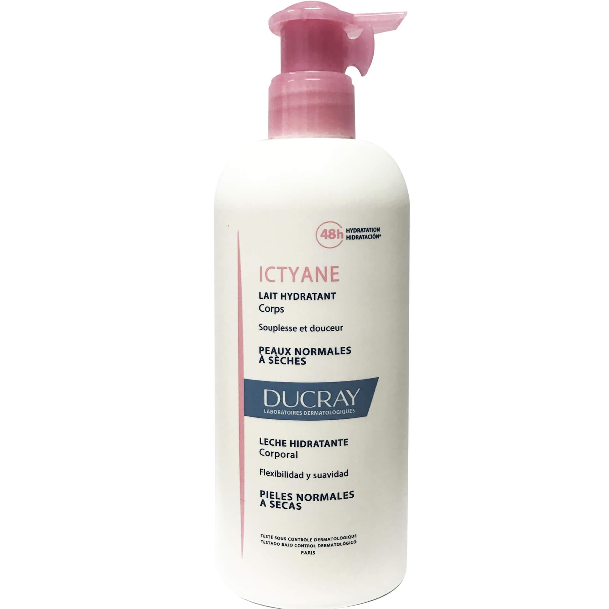 Ducray Ictyane Lait Hydratant Ενυδατικό Γαλάκτωμα Σώματος 400ml