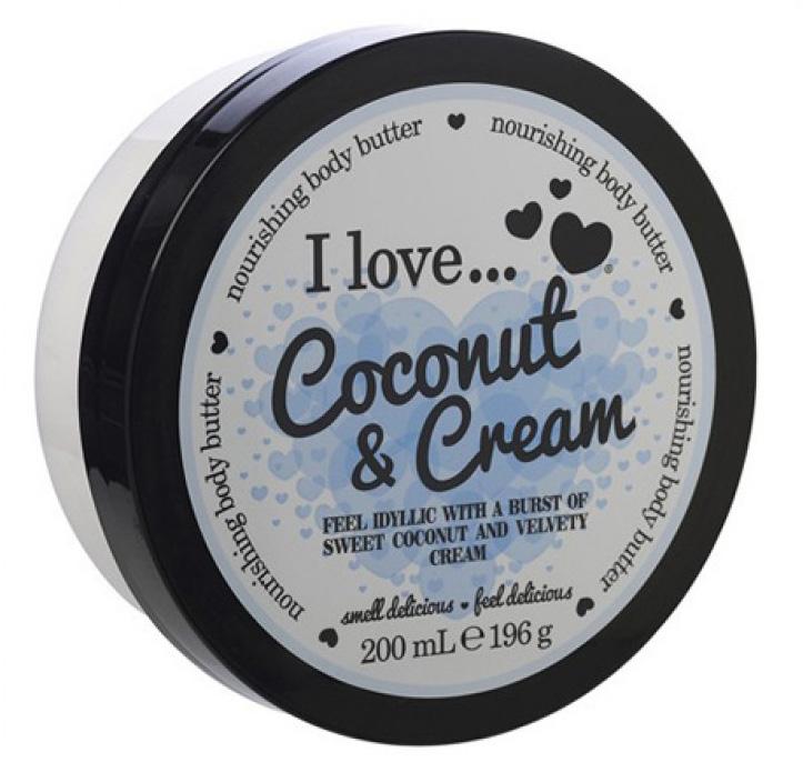 I love… Nourishing Body Butter Θρεπτικό Βούτυρο Σώματος200ml – Pink Marshmallow