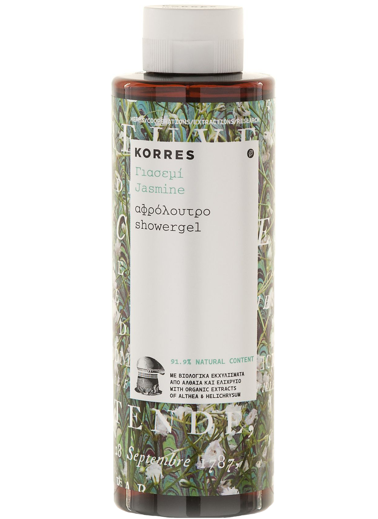 Korres Γιασεμί Αφρόλουτρο Με Μεθυστικό Αρωμα Από Ανθη Γιασεμιού 250ml