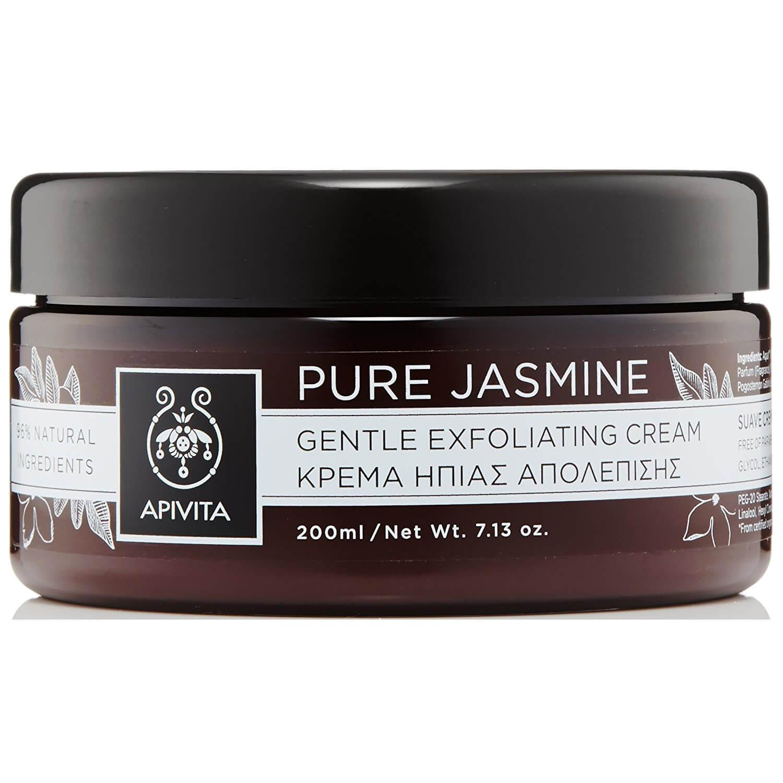 Apivita Pure Jasmine Κρέμα Ήπιας Απολέπισης με γιασεμί Τόνωση & αναζωογόνηση 200ml