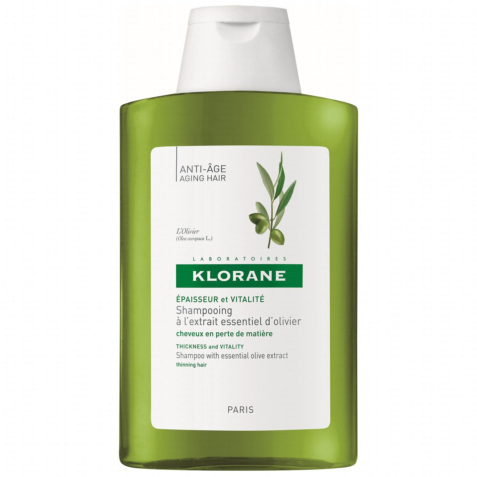Klorane Shampooing A LExtrait Essentiel DOlivier Σαμπουάν Με Ελιά Αντιγήρανση Μαλλιών 400ml