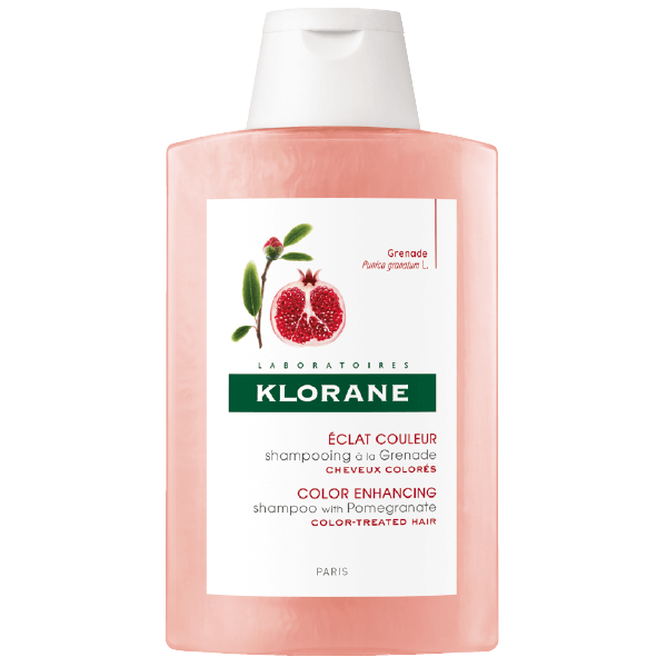 Klorane Shampoo Grenade Σαμπουάν με Εκχύλισμα Ροδιού Κατάλληλο για Βαμμένα Μαλλιά 200ml