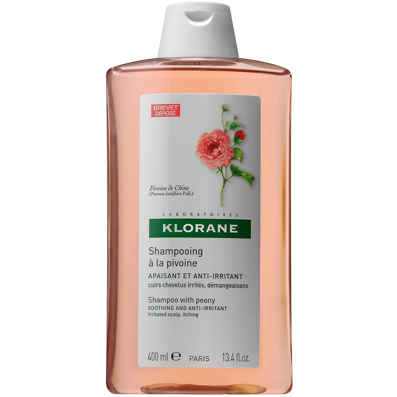Klorane Pivoine Soothing & Anti-Irritating Shampoo Καταπραυντικό Σαμπουάν με Παιώνια για Ευαίσθητο & Ερεθισμένο Τριχωτό 400ml