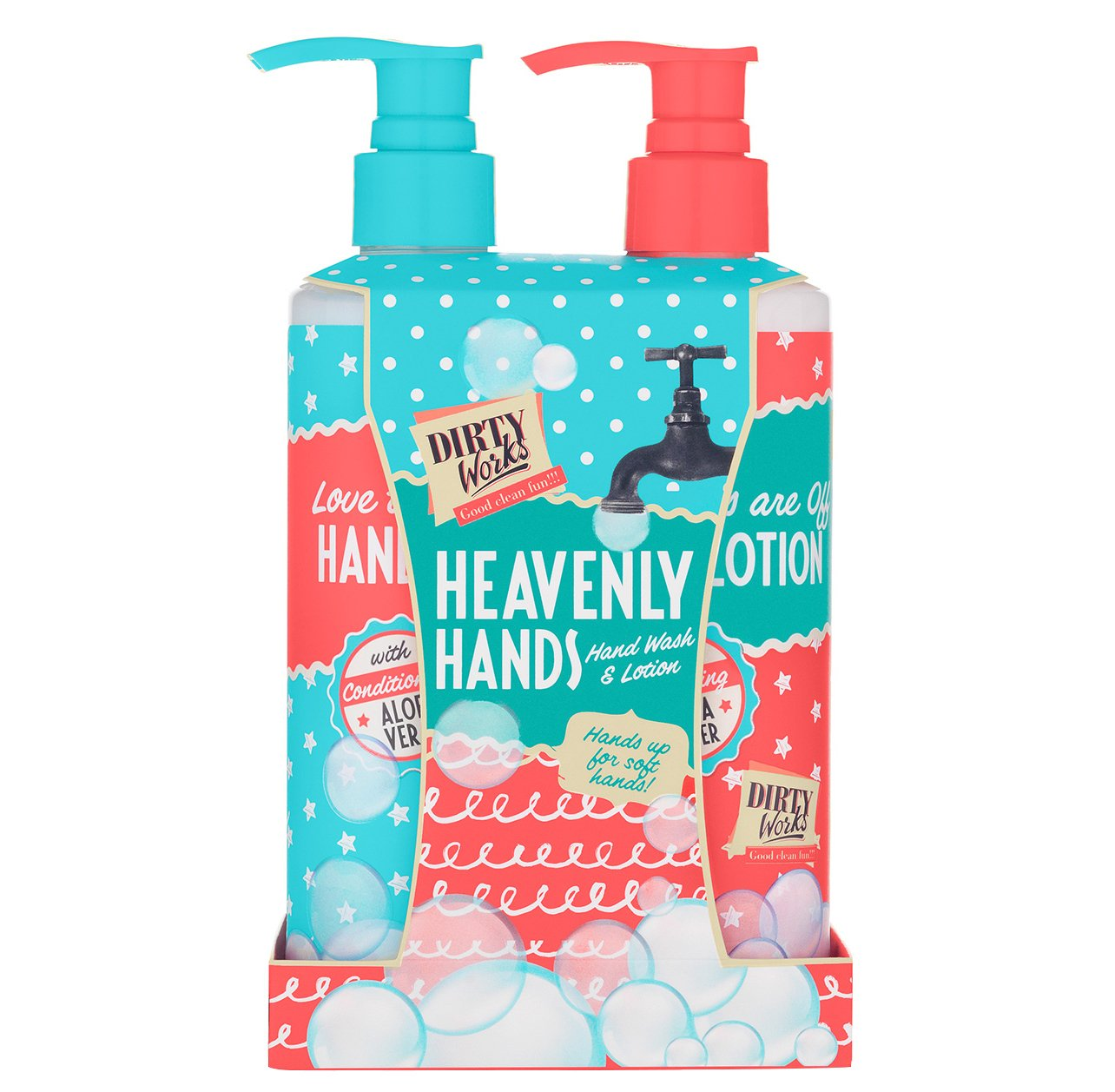 Dirty Works Heavenly Hands Σαπούνι & Λοσιόν για την Περιποίηση των Χέριων 2x250ml