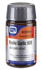 Quest Kyolic Garlic 600 Aged Garlic Extract 600mg Συμπλήρωμα Διατροφής Άοσμου Εκχυλίσματος Σκόρδου Ψυχρής Ωρίμανσης 60 tabs