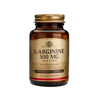 Solgar L-Arginine Αργινίνη – 1000mg 90caps
