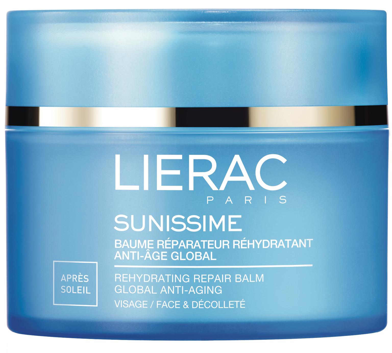 Lierac Sunissime Baume Reparateur Rehydratant Anti-Age Global Βάλσαμο Ανάπλασης Ενυδάτωσης Προσώπου για Μετά τον Ήλιο 40ml