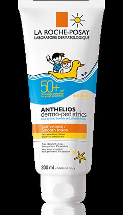 La Roche-Posay Anthelios Dermo-Pediatrics Spf 50+ Γαλάκτωμα Εξαιρετικά Ανθεκτικό Στο Νερό Την Άμμο Και Τον Ιδρώτα 300ml