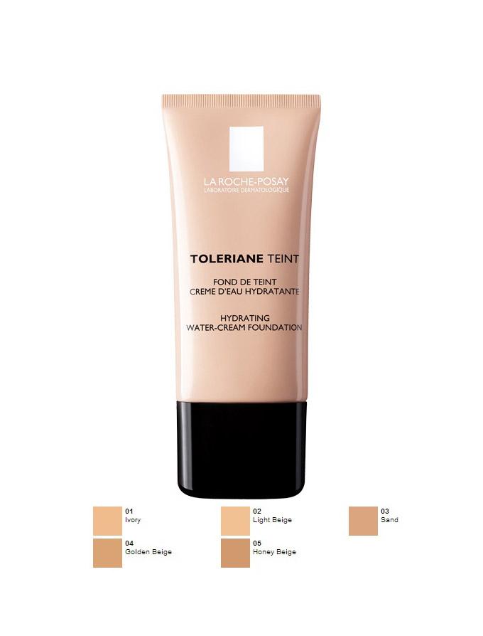 La Roche-Posay Toleriane Teint Water-Cream Μακιγιάζ που Διαρκεί Όλη την Ημέρα 30ml – 01 ivory